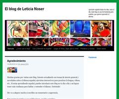 El blog de Leticia Noser