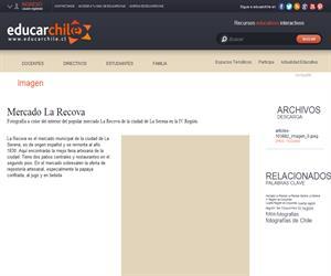 Mercado La Recova (Educarchile)
