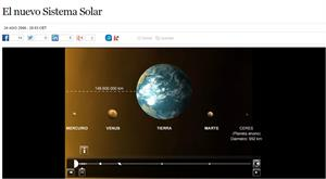 El nuevo Sistema Solar (elpais.com)