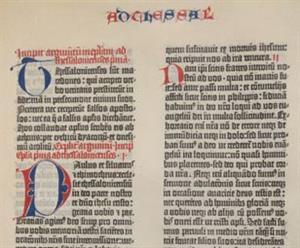 La Biblia de Gutenberg. Biblioteca Digital Mundial