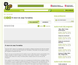 El retorn de Josep Tarradellas (Edu3.cat)