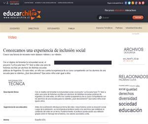 Argentina. Hace TV 2 (Educarchile)