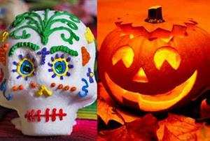 Manualidades y recursos educativos para Halloween y Día de Muertos
