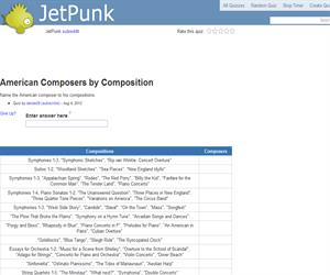 American Composers by Composition