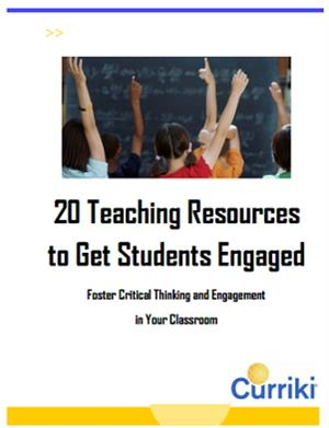 20 Teaching Resources to Get Students Engaged. 20 recursos para motivar a tus alumnos (Curriki)