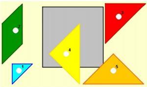 Polígonos, perímetros y áreas. Lección para imprimir (cide