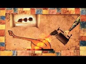 Románico Virtual: La cocina  medieval