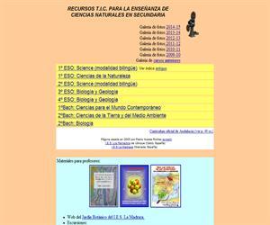 Temario de Ciencias de la Naturaleza (Bilingüe)