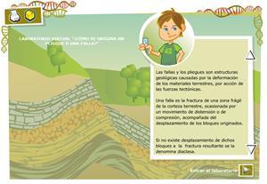 Cómo se origina un pliegue o una falla.  Biología y Geología para 3º ciclo de Primaria