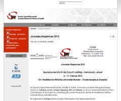 Jornadas Hispánicas 2012 / Spanischunterricht für die Zukunft: vielfältig – motivierend – aktuell