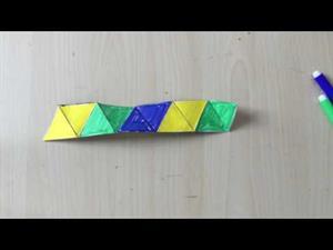 Construyendo flexágonos (Profe Miguel)