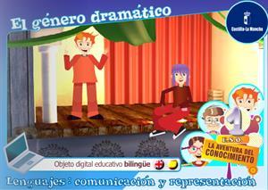 El género dramático. Unidad bilingüe (Cuadernia)