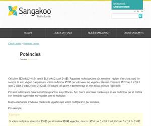 Potències. Sangakoo.