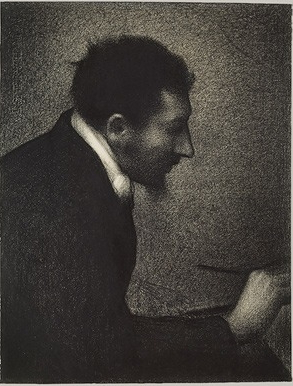 El pintor neoimpresionista Georges Seurat