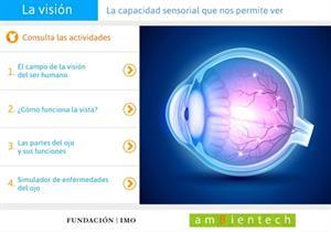 La visión, la capacidad sensorial que nos permite ver