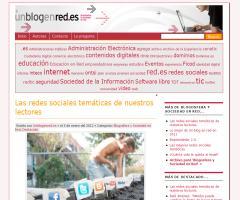 Las redes temáticas de nuestros lectores (Didactalia y GNOSS en Red.es)
