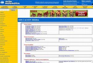 Sectormatematica.cl: matemáticas y ejercicios didácticos para Primaria y Secundaria