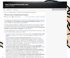 Primera Ley de Transparencia de España - Gobierno de Navarra (Vía @guzmangarmendia)