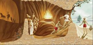 Lecciones de filosofía, el mito de la caverna de Platón