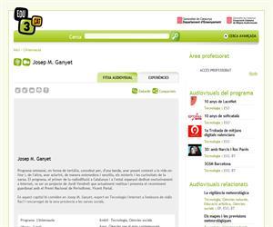 Josep M. Ganyet (Edu3.cat)
