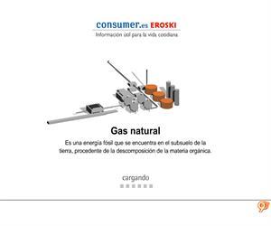 El Gas Natural y sus usos (Primaria)