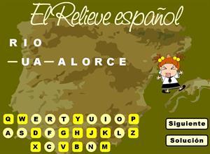El relieve español. Juego de geografía (catedu.es)