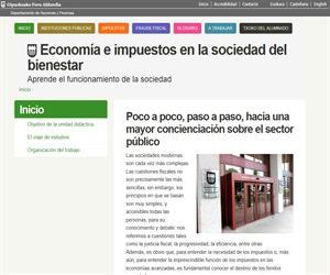 Economía e impuestos en la sociedad del bienestar (Gipuzkoako Foru Aldundia - Departamento de Hacienda y Finanzas)