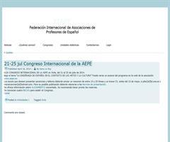 21-25 jul Congreso Internacional de la AEPE (FIAPE)