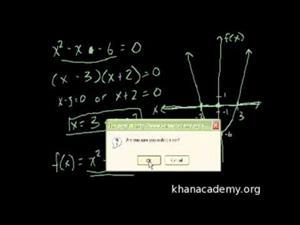 Como desarrollar la ecuación cuadrática (Khan Academy Español)