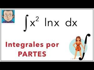 Integrales por partes (ejemplo 1)