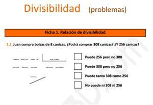 Problemas de Divisibilidad