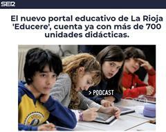 Presentamos la plataforma Educere en la SER