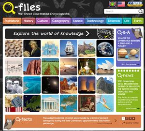 Q-files. Free Children's Online Encyclopedia. Enciclopedia para niños