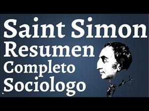 Henri de Saint Simon, padre de la Sociología