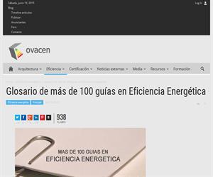 Más de 100 guías y manuales en Eficiencia Energética