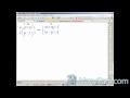 Sistema de ecuaciones en Directo (Método de reducción)