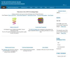 XCRI Knowledge Base - eXchanging Course Related Information