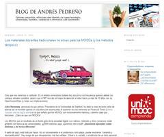 Blog de Andrés Pedreño: Los materiales docentes tradicionales no sirven para los MOOCs (y los métodos tampoco)