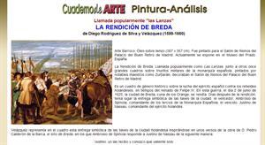 Análisis de Las Lanzas o La Rendición de Breda de Velázquez (Cuaderno de arte)