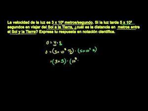 Las notaciones científicas parte 2 (Khan Academy Español)
