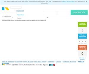Suma de fracciones (salonhogar.com)