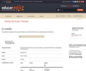 La sureña (Educarchile)