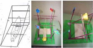 Construcción de una Catapulta por Manuela Luengo Balmisa