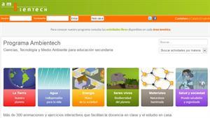Ambientech: Ciencias, Tecnología y Medio Ambiente para educación secundaria