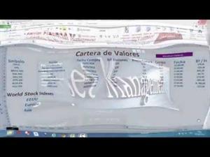 Vídeo - Macros Excel – VBA 12.- Descargando Cotizaciones Indices Internacionales desde la Web de Bloomberg