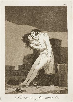 El amor y la muerte (serie Caprichos, 10)