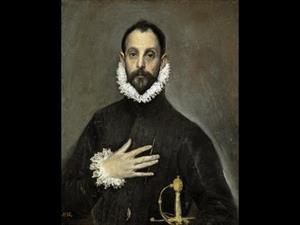 El caballero de la mano en el pecho del Greco