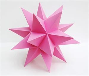 Construye un dodecaedro estrellado
