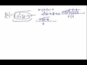 Dominio de una función (raíz de un polinomio)
