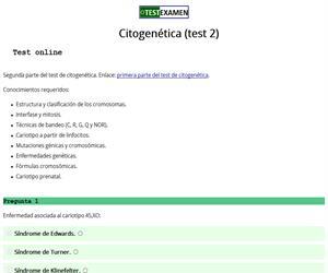 Test de citogenética (2)